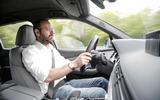 Driving the Audi SQ7
