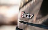 Audi SQ7 badging
