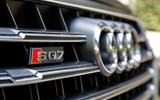 Audi SQ7 front grille