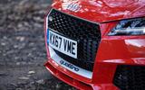 Audi TT RS Coupé front grille