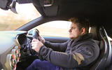 Nic Cackett driving the Audi TT RS Coupé