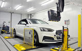 Audi A5 emissions testing