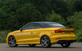 Audi A3 Cabriolet roof up