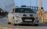 Audi A3 2020 spies front