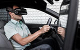 Audi A4 virtual training car