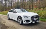 Audi A6 Avant 2019 long-term review - parked