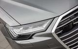Audi A6 Avant 2018 first drive review headlights