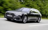 Audi A6 Avant 2018 first drive review on the road action