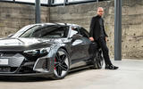 "Marc Lichte: ""The question was how the e-tron GT reinterprets 'Vorsprung durch Technik'."""