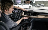 """Markus Däsch: """"The long horizontal layers of the e-tron GT dashboard feel wide and luxurious"""""""