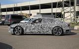 Audi E-tron GT spyshots side