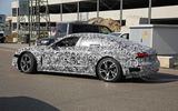 Audi E-tron GT spyshots side rear