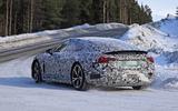 Audi E-Tron GT spyshots rear side