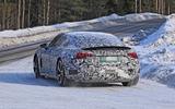 Audi E-Tron GT spyshots rear