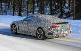 Audi E-Tron GT spyshots rear shoulder