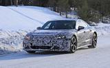 Audi E-Tron GT spyshots front