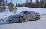 Audi E-Tron GT spyshots front side