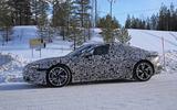 Audi E-Tron GT spyshots side front