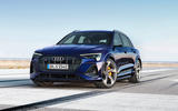 Audi e-tron front three-quarters