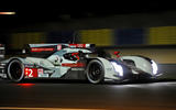 Audi R18 e-tron quattro Le Mans night action