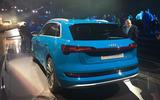 Audi E-tron 2019 official launch static rear