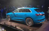 Audi E-tron 2019 official launch static side