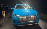 Audi E-tron 2019 official launch static nose