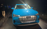 Audi E-tron 2019 official launch static nose