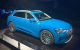 Audi E-tron 2019 official launch static front