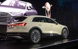 Audi E-Tron 2019 official reveal event - rear angle