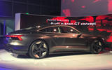 Auto E-tron GT concept official show debut - rear