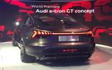 Auto E-tron GT concept official show debut - 3