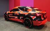 Audi E-tron Sportback Geneva motor show 2019 - rear