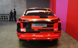 Audi E-tron Sportback Geneva motor show 2019 - back end
