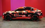 Audi E-tron Sportback Geneva motor show 2019 - side