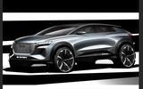 Audi Q4 e-tron sketches official - hero