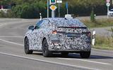 Audi Q4 E-tron Sportback spyshot rear on
