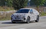 Audi Q4 E-tron Sportback spyshot front side