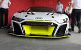 Audi R8 LMS GT2 - Goodwood reveal - front bumper