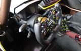 Audi R8 LMS GT2 - Goodwood reveal - interior