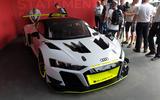 Audi R8 LMS GT2 - Goodwood reveal - hero