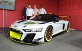 Audi R8 LMS GT2 - Goodwood reveal - press call