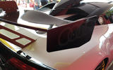 Audi R8 LMS GT2 - Goodwood reveal - rear wing