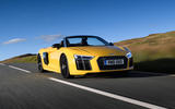 Audi R8 Spyder front quarter