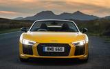 Audi R8 Spyder LED headlights
