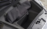 Audi R8 Spyder front boot space