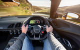 Driving the Audi R8 Spyder