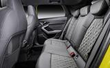2020 Audi S3 saloon - rear seats