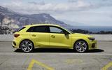 2020 Audi S3 hatchback side