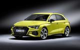 2020 Audi S3 hatchback - static front